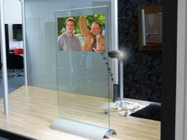 Smart glass prosjektor