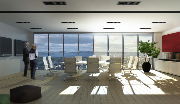 SmartglassECO - Solskjerming uten persienner eller bevegelige deler